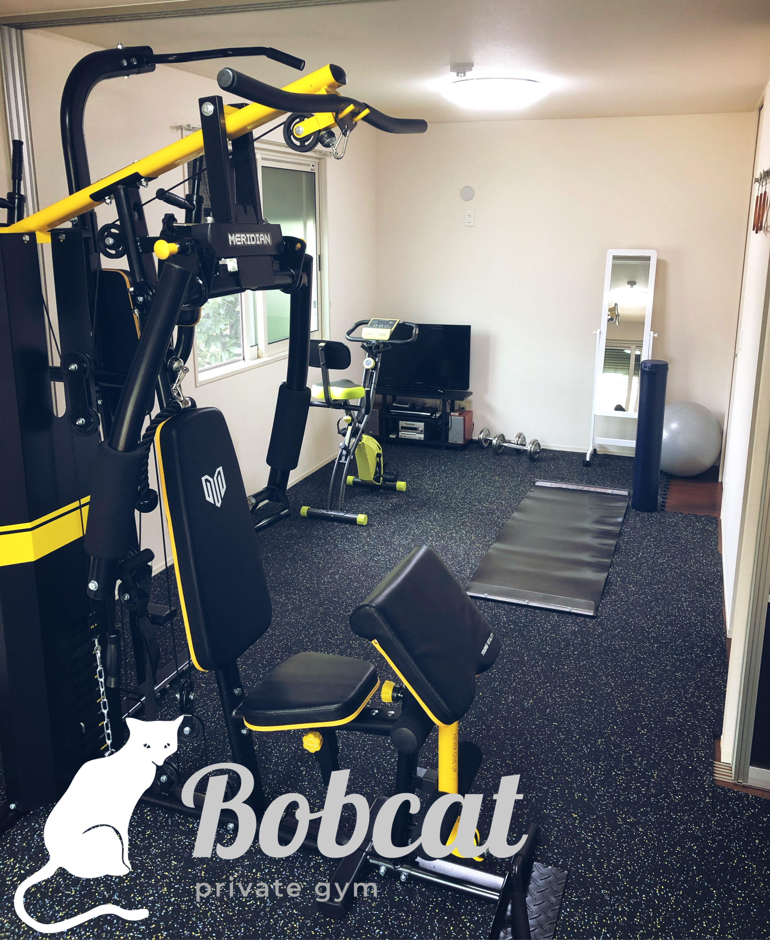 寝屋川市の完全個室ジム【Bobcat】レンタル、パーソナルトレーニング